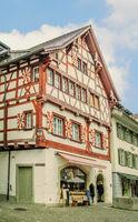 Altstadt, Stein am Rhein, Schweiz,