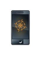 Smartphone-Kompass