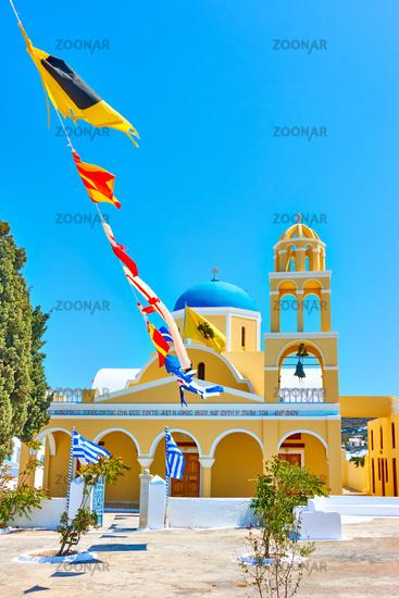 St George Church in Oia in Santorini