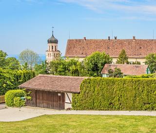 Kirchturm der Schlosskapelle Heiligenberg
