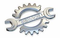 Metal service icon 3D