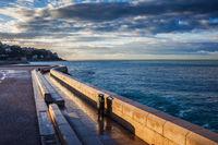 Sunrise at Sea in Nice