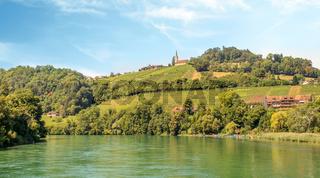 Hochrhein bei Buchberg-Rüdlingen, Schweiz