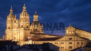 Salamanca at night
