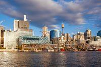 Sydney CBD at Dusk in Australia
