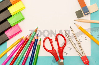 School accessories for elementary grades