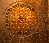 Dirty oven fan