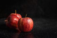 Fresh autumn apples