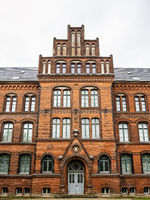 Hans-Christian-Haus on top of the Museum hill in Flensburg, Germany