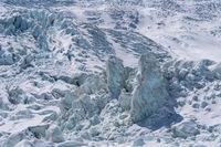 beautiful glacier scenery