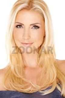 Portrait of a gorgeous blond lady