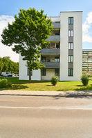 Viele Mietwohnungen in Mehrfamilienhaus Siedlung
