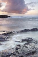 Cornish dusk seascape