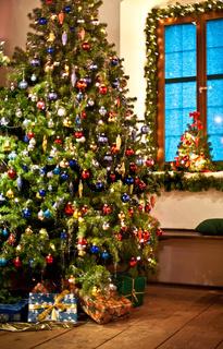 Rural Christmas Tree