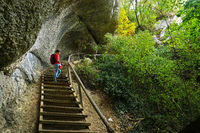 Naturpark Obere Donau; Inzigkofer Grotten, Baden Württemberg, Deutschland