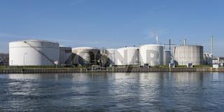 Varo Energy Tanklager am Datteln-Hamm-Kanal, Ruhrgebiet, Nordrhein-Westfalen