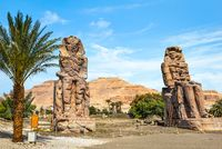 Two ancient statues
