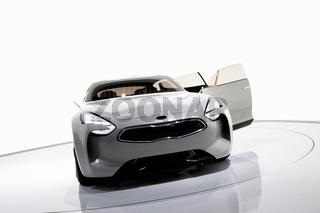 Futuristisches Coupe