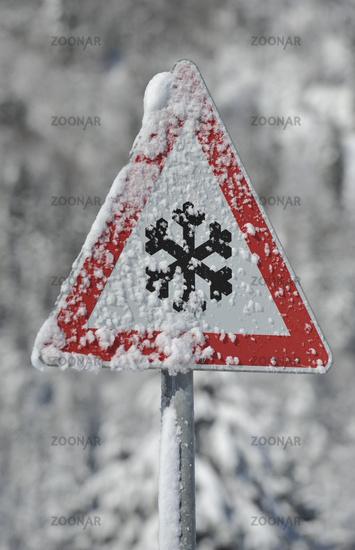 Gefahr im Winter
