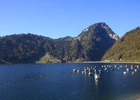 Lake Waegital and Mount Gross Aubrig.