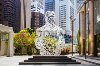 Singapore Soul Sculpture in Asia
