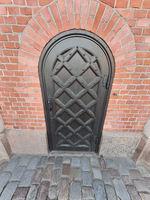 wooden gothic door