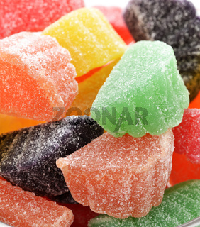 Colorful  Fruit Candies