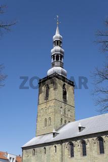 Turm der St. Petri Kirche, Soest, Westfalen, Nordrhein-Westfalen, Deutschland, Europa