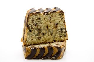Kuchen mit Schokolade