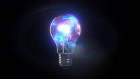 Light Bulb Color Splash