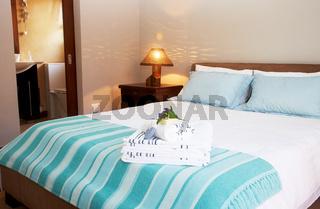 Beautiful bedroom interior