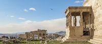 Acropolis Site Landscape, Athens, Greece