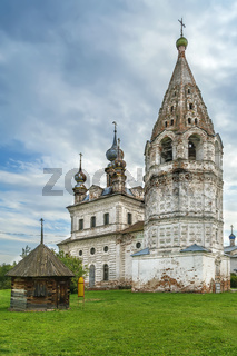 Archangel Michael Monastery,  Yuryev-Polsky, Russia