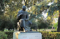 Rome, monument to Gogol