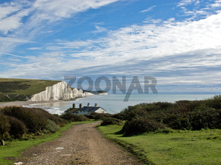Seven Sisters and Coastguard Cottages