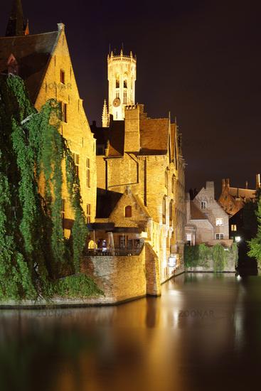 Bruges at night