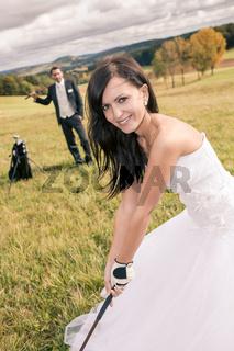 wedding golf