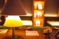 Stylish lighting of stylish room