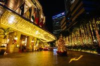The Fullerton Hotel in Singapore