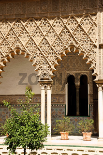 Patio de las Doncellas in Seville