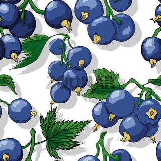 Jostaberries repeating pattern