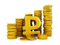 Rouble golden coins