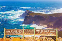 Cape of Good Hope. Bird's-eye view.