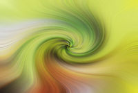 Background of yellow and green swirling texture