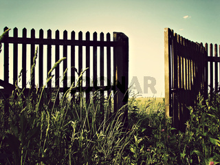 open fence