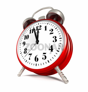 Red Clock