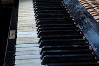 Tasten eines Klaviers