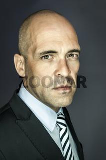 bald head man