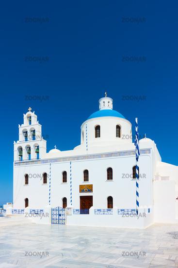 Church of Panagia Platsani in Oia in Santorini