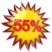 Star off fifty five percent